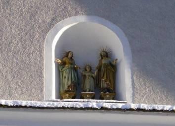 Pfarrkirche Biberwier Hl. Familie (Patronat der alten Kapelle)