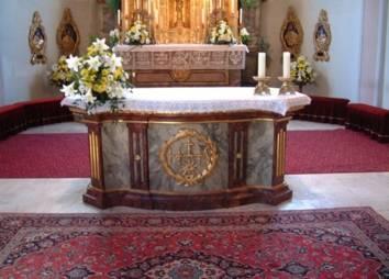 Pfarrkirche Ehrwald Altar