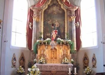 Pfarrkirche Ehrwald Altarraum