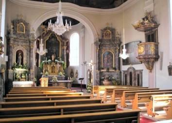 Pfarrkirche Ehrwald Innenraum