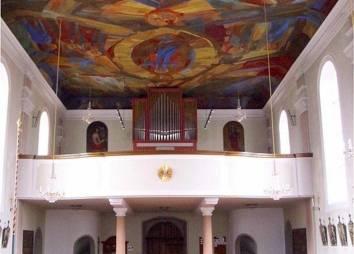 Pfarrkirche Ehrwald Langhaus