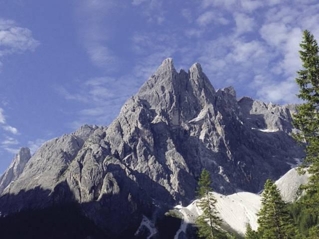 Die Dolomiten in Südtirol