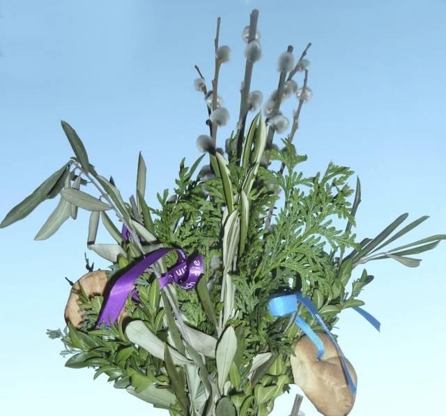 Palmzweige Palmsonntag