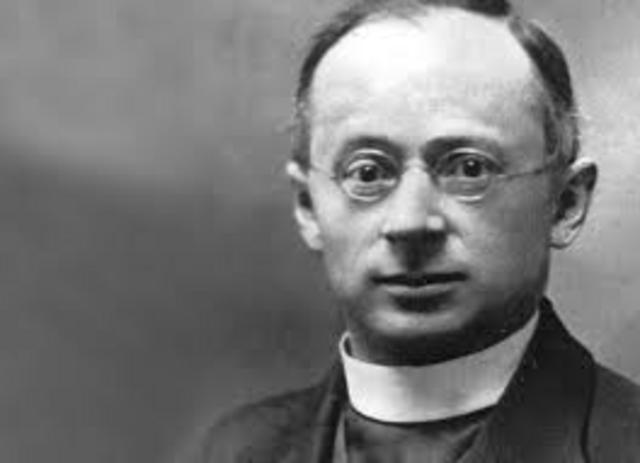 Im Bild ist der Märtyrer-Priester Otto Neururer zu sehen.