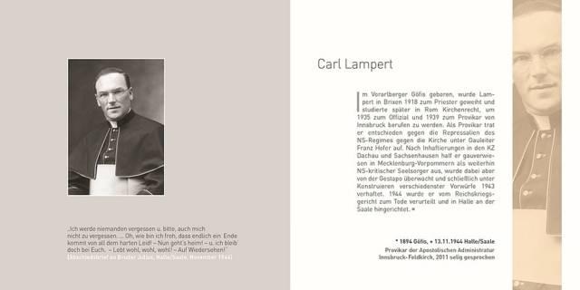 Leseprobe zu Carl Lampert