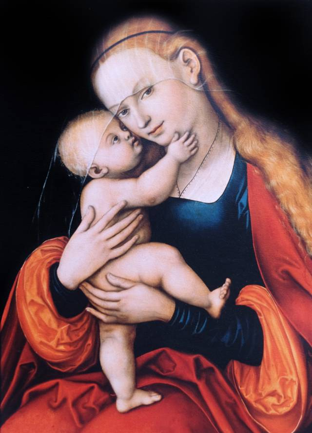 """Gnadenbild """"Mariahilf"""" von Lucas Cranach"""