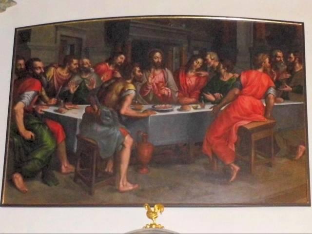 Abendmahlsgemälde von Otto van Veen