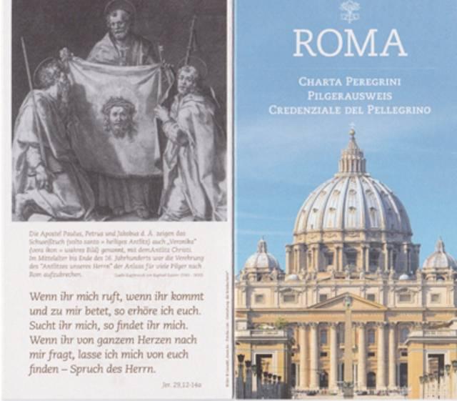 Pilgerpass Rom
